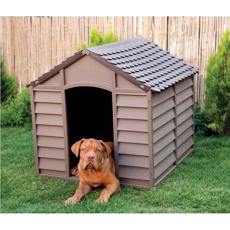 ... STARPLAST Σπίτι Σκύλου 78x84.5x80.5cm LARGE 10kg Μόκα-Σοκολατί ... 77d5109b194