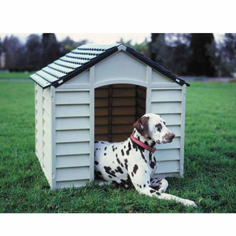 ... STARPLAST Σπίτι Σκύλου 71x72x68.5cm Medium 6kg Μπεζ-Πράσινο ... 15ded0aa8bb