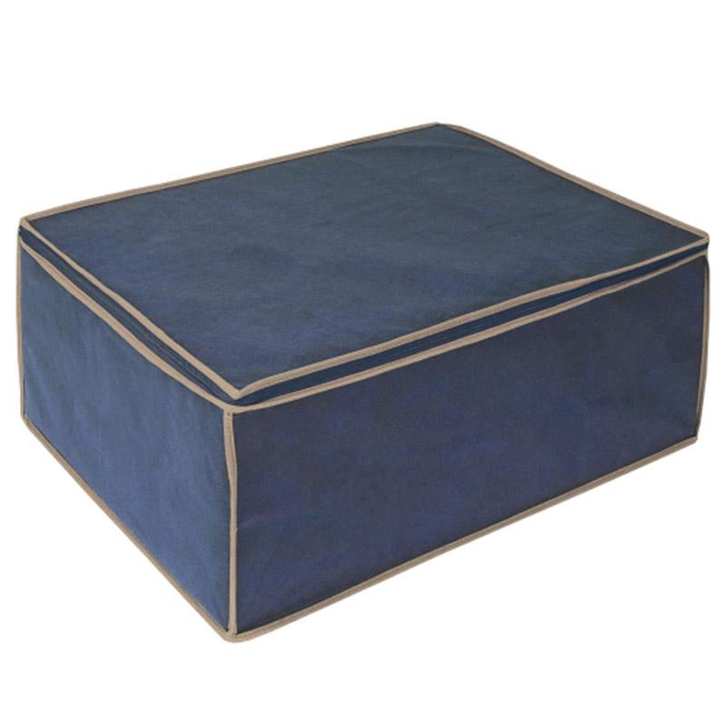 bde468e37577 ORDINETT ITALY Θήκη Φύλαξης Ρούχων 40x60x26cm ΤΝΤ BLANKET 2 BLUE ...