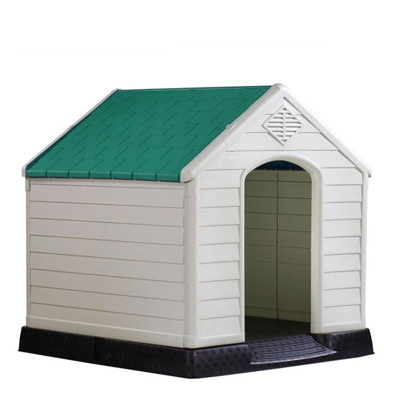 Σπίτι Σκύλου MEDIUM 66.5x73.6x69.5cm 6.5kg Ανοιχτό Γκρί-Πράσινο VESTA ... a9d7ea99c0a