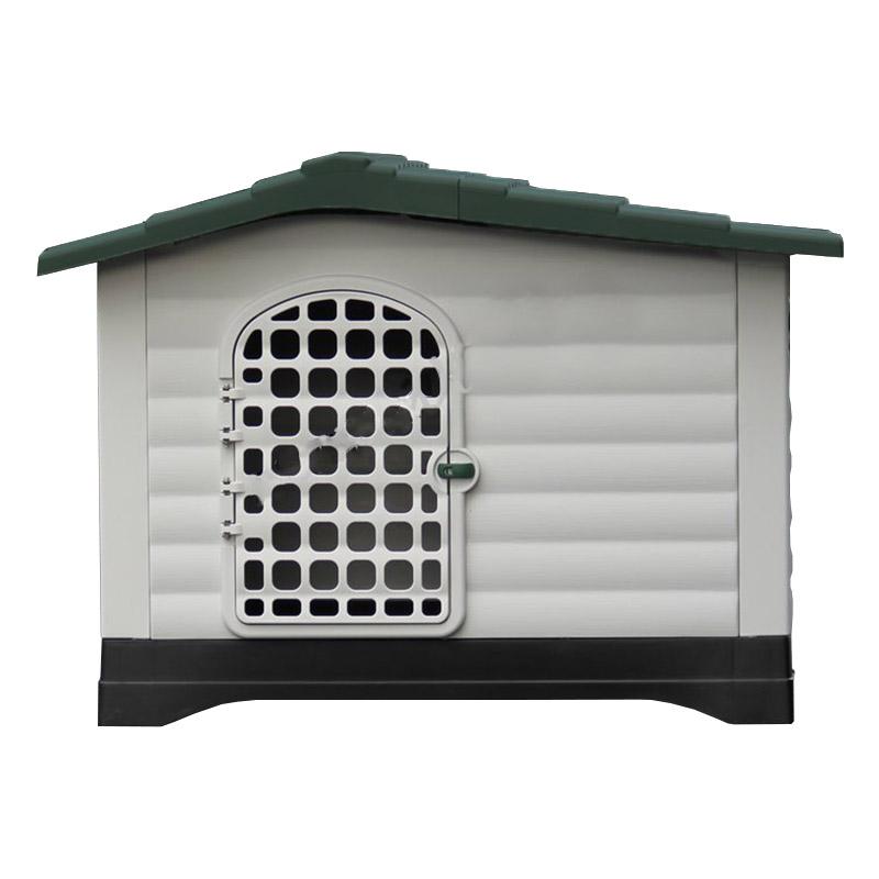 387c0cd44e14 ... Σπίτι Σκύλου XLARGE 111x83.8x80.4cm με Πορτάκι Ασφαλείας και Ανοιγόμενη  Πλευρά 15.6kg ...