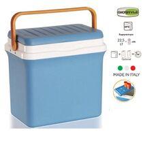 GIOSTYLE ITALY Φορητό Ψυγείο-Θερμός 22.5lt 38x25x38cm 2.68kg FIESTA25 Γαλάζιο-Πορτοκαλί