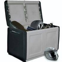 Μπαούλο 96x53x57 230lt Αποθήκευσης Πλαστικό MASSIF 11kg Μαύρο/Γκρι ARTPLAST CUBE
