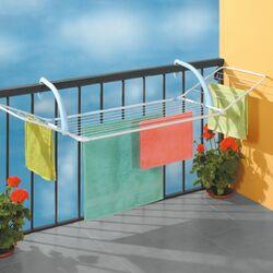 Απλώστρα Ρούχων Μπαλκονιού 178x55x27.5cm Μεταλλική Βαμμένη BREZZA 200 GIMI Αντοχή 15kg Άπλωμα 18m Βάρος 2.4kg Ιταλίας