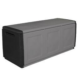 Μπαούλο 138x53x57 330lt Αποθήκευσης Πλαστικό  MASSIF 13kg Μαύρο/Γκρι ARTPLAST CUBE