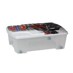 Κουτί Αποθήκευσης 56x39x18cm Πλαστικό 35lt Διάφανο Decor London ARTPLAST Ιταλίας
