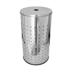 Καλάθι Απλύτων INOX Ø30x55.5cm 45lt