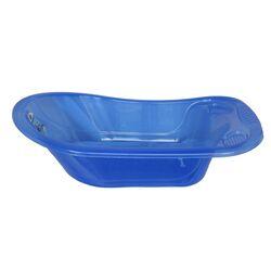 Μπανάκι Βρεφικό 89x54x26,5 Με Βαλβίδα Αντιολισθητική Επίστρωση Διάφανο Μπλε
