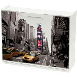 Παπουτσοθήκη Πλαστική Συναρμολογούμενη 51x17,3x41cm για 3 Ζευγάρια UNIKA Decor New York Broadway
