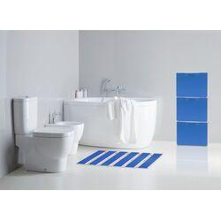 Παπουτσοθήκη Πλαστική Συναρμολογούμενη 3σε1 Σύνθεση 51x17.3x123cm UNIKA Μπλέ ARTPLAST Ιταλίας