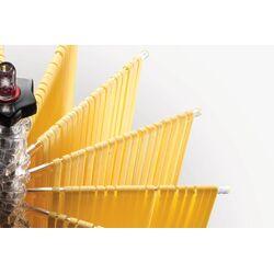 Marcato Στεγνωτήρι Ζυμαρικών Design με 16 Ράβδους MAX Αντοχή 2kg Βάση Αλουμινίου-Πλαστικοί Ράβδοι Κίτρινο