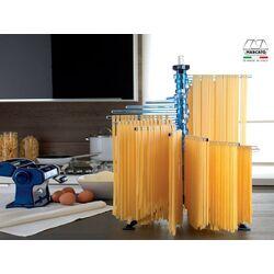 Marcato Στεγνωτήρι Ζυμαρικών Design με 16 Ράβδους MAX Αντοχή 2kg Βάση Αλουμινίου-Πλαστικοί Ράβδοι Μπλε