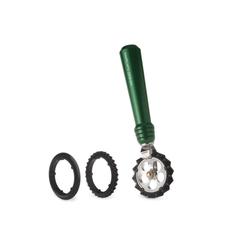 Marcato Εξάρτημα Κοπής Ζύμης DESIGN με 3 Ροδέλες για Επιλογή Κοπής Πράσινο PASTAWHEEL Ιταλίας