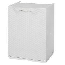 Κάδος Ανακύκλωσης Απορριμμάτων Κουζίνας 34x29x47cm 46lt Πλαστικός RATTAN Λευκό ARTPLAST Ιταλίας