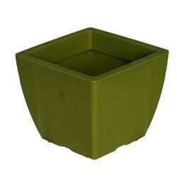 Κασπώ 2lt Τετράγωνο 15x15x12.5cm Γυαλιστερό Λαχανί GLOSS Ελλάδας