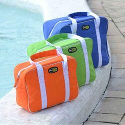GIOSTYLE ITALY Ισοθερμική Τσάντα 34x12x24cm Πάχος 6mm 12lt Πολυεστέρας 300D MAX Απόδοση 13 Ώρες Πιστοποιήσεις Azo FREE/REACH EVO SMALL Πορτοκαλί