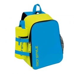 GIOSTYLE ITALY Ισοθερμική Τσάντα Πλάτης 26x18x36cm Πάχος 6mm 14.5lt Πολυεστέρας 300D MAX Απόδοση 11 Ώρες Πιστοποιήσεις Azo FREE/REACH LIME BACKPACK Κίτρινο-Μπλε