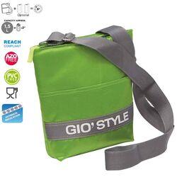 GIOSTYLE ITALY Ισοθερμική Τσάντα Ώμου 20x5.5x26cm Πάχος 10mm 1.5lt  Πολυεστέρας 420D MAX Απόδοση 9 Ώρες Πιστοποιήσεις Azo FREE/REACH SHOULDER BAG VELA Πράσινη