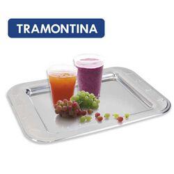 TRAMONTINA Δίσκος Σερβιρίσματος 42.5x32x2cm Ατσάλι INOX 18/10 1kg GLUCKY