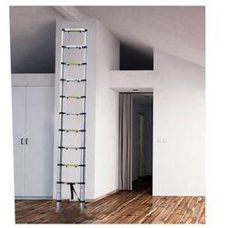 Τηλεσκοπική Σκάλα 3.18m Αλουμινίου με 11 Σκαλιά Βάρος 8.4kg MAX Αντοχή 150kg LS1110