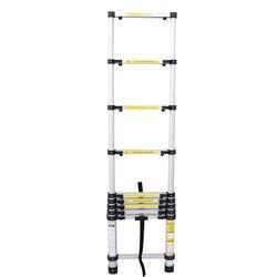Τηλεσκοπική Σκάλα 2.9m Αλουμινίου με 10 Σκαλιά Βάρος 7kg MAX Αντοχή 150kg LS1009