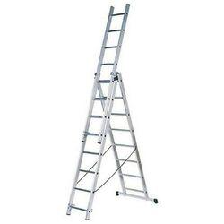 Σκάλα Πτυσσόμενη 100% Αλουμινίου 3x7 με 21 Σκαλιά