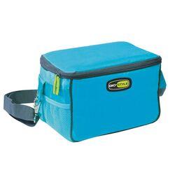 GIOSTYLE ITALY Ισοθερμική Τσάντα 26x17x16cm Πάχος 10mm 7lt Πολυεστέρας 420D MAX Απόδοση 9 Ώρες Πιστοποιήσεις Azo FREE/REACH TRAVEL LUNCH VELA Γαλάζιο