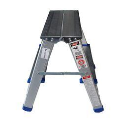 Σκαλοσκαμπό Αλουμινίου 2x2 Σκαλιά MAX Ύψος 45cm Βάρος 1.5kg MAX Αντοχή 150kg