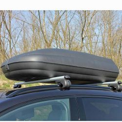 ARTPLAST ITALY Μπαγκαζιέρα Οροφής Αυτοκινήτου 320lt Πλαστική 131x78x34.5cm MAX Φορτίο 55kg Ανθρακί-Μαύρο Πιστοποιήσεις TUV/GS ISO/PAS 11154:2006