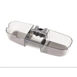 Εταζερα-Ράφι Στήλης Ντουζιέρας 33x11x7cm Πλαστικό 0.32kg Διάφανο