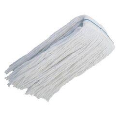 Σφουγγαρίστρα Επαγγελματική Κορδόνι 400gr Νήματα Βαμβακερά Λευκή FORKAL