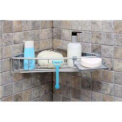 Εταζέρα Μπάνιου Γωνίακή 35.5x21x7cm 0.38kg Αλουμίνιο