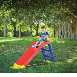 Παιδική Τσουλήθρα Κήπου 141x60x78.5cm MAX Αντοχή 30kg Children Slide Πολύχρωμη STARPLAY