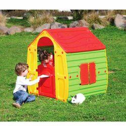 Παιδικό Σπιτάκι Κήπου 102x90x109cm Magical House Πράσινο-Κίτρινο με Κόκκινη Σκεπή STARPLAY