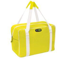 GIOSTYLE ITALY Ισοθερμική Τσάντα 39x20x33cm Πάχος 6mm 28lt Πολυεστέρας 300D MAX Απόδοση 13 Ώρες Πιστοποιήσεις Azo FREE/REACH EVO LARGE Κίτρινο