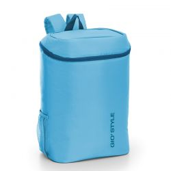 GIOSTYLE ITALY Ισοθερμική Τσάντα Πλάτης 28x20x37cm Πάχος 6mm 20lt Πολυεστέρας 120D MAX Απόδοση 11 Ώρες Πιστοποιήσεις Azo FREE/REACH FRIO BACKPACK Γαλάζιο