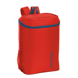 GIOSTYLE ITALY Ισοθερμική Τσάντα Πλάτης 28x20x37cm Πάχος 6mm 20lt Πολυεστέρας 120D MAX Απόδοση 11 Ώρες Πιστοποιήσεις Azo FREE/REACH FRIO BACKPACK Κόκκινο