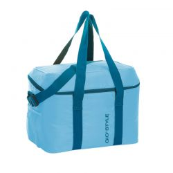 GIOSTYLE ITALY Ισοθερμική Τσάντα 37x26x31cm Πάχος 6mm 30lt Πολυεστέρας 120D MAX Απόδοση 13 Ώρες Πιστοποιήσεις Azo FREE/REACH FRIO 30 Γαλάζιο