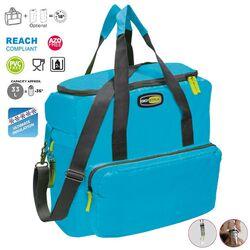 GIOSTYLE ITALY Ισοθερμική Τσάντα 42x18x37cm Πάχος 10mm 33lt Πολυεστέρας 420D MAX Απόδοση 18 Ώρες Πιστοποιήσεις Azo FREE/REACH VELA+ XL Γαλάζιο