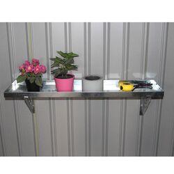 Μεταλλικό Ράφι 80χ20χ3cm Για Μεταλλικές Αποθήκες Κήπου