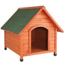 VESTA Ξύλινο Σπιτάκι Σκύλου Small 72x76x76cm 17kg Καφέ-ΠράσινοVESTA Ξύλινο Σπιτάκι Σκύλου Small 72x76x76cm 17kg Καφέ-Πράσινο