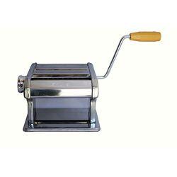 SHULE Μηχανή Φύλλου και Ζυμαρικών INOX 24.5x19x14cm Συμπαγής Max Πλάτος Ζύμης 18cm Βάρος 3.04kg