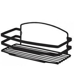 TEKNO-TEL Εταζέρα Μπάνιου INOX Matt (Ανοξείδωτο Ατσάλι-Ματ Όψη) 25x13x10cm Βάρος 0.44kg Πάχος Ø5mm Μαύρο Matt