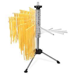 SHULE Στεγνωτήρι Ζυμαρικών Design με 16 Ράβδους MAX Αντοχή 2kg Βάση Ανοξείδωτο Ατσάλι (INOX)-Πλαστικοί Ράβδοι Διάφανο