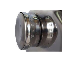 SHULE Μηχανή Φύλλου INOX 24.5x14x13cm Max Πλάτος Ζύμης 18cm Βάρος 2.1kg