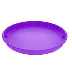 Πιάτο Γλάστρας No.2 Στρογγυλό Πλαστικό Μωβ Σκούρο Ελλάδας