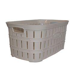 Καλάθι Ρούχων 55x34x25cm 40lt Πλαστικό 0.80kg με Όψη Μπαμπού Μπεζ