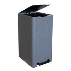 Κάδος Μπάνιου με Πεντάλ 17lt 18.5x26x37cm με Εσωτερικό Κάδο 10lt 1.04kg Πλαστικό SOFT CLOSE Λάβα Ελλάδας