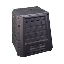 Κομποστοποιητής-Κάδος Κομποστοποίησης 380lt Πλαστικός Κήπου 75x75x80cm Μαύρος BIO Composter ARTPLAST Ιταλίας