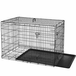 VESTA Συρμάτινο Κλουβί Περιορισμού και Περίφραξης XLARGE 108x69x76.5cm 12.5kg Μεταλλικό - Πλαστικό Μαύρο